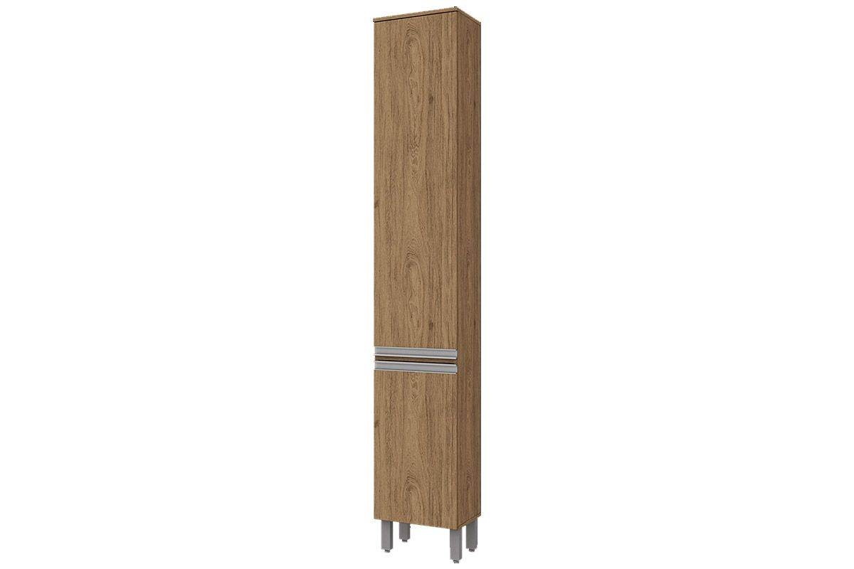 Paneleiro de Cozinha Henn Integra c/ 2 Portas 35cmCor Rústico