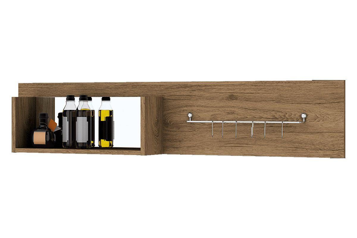 Painel de Cozinha Henn Integra Porta TalheresCor Rústico