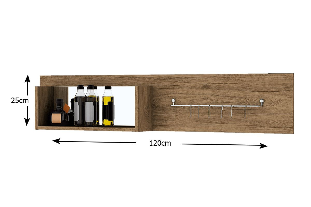 Painel de Cozinha Henn Integra Porta Talheres