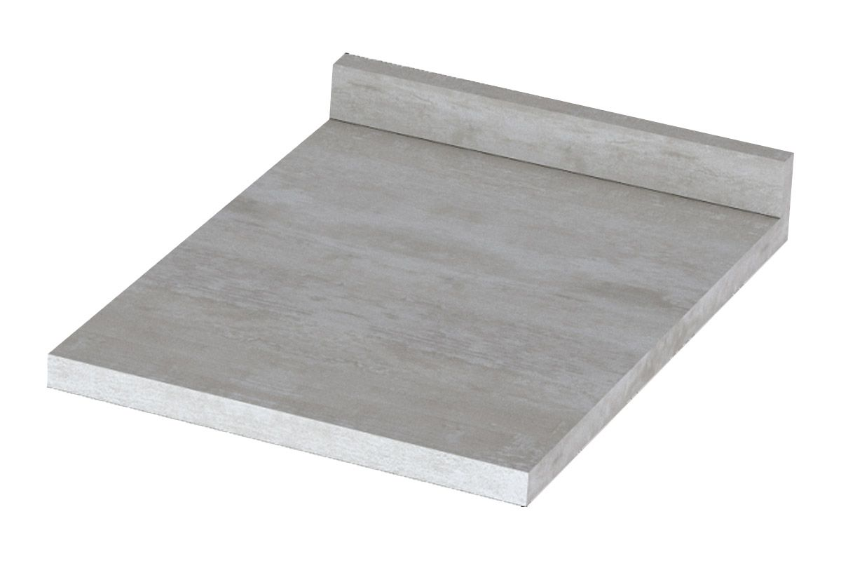 Tampo de Balcão Henn Integra 40cm (p/ Gabinete de 40cm)Cor Calcare