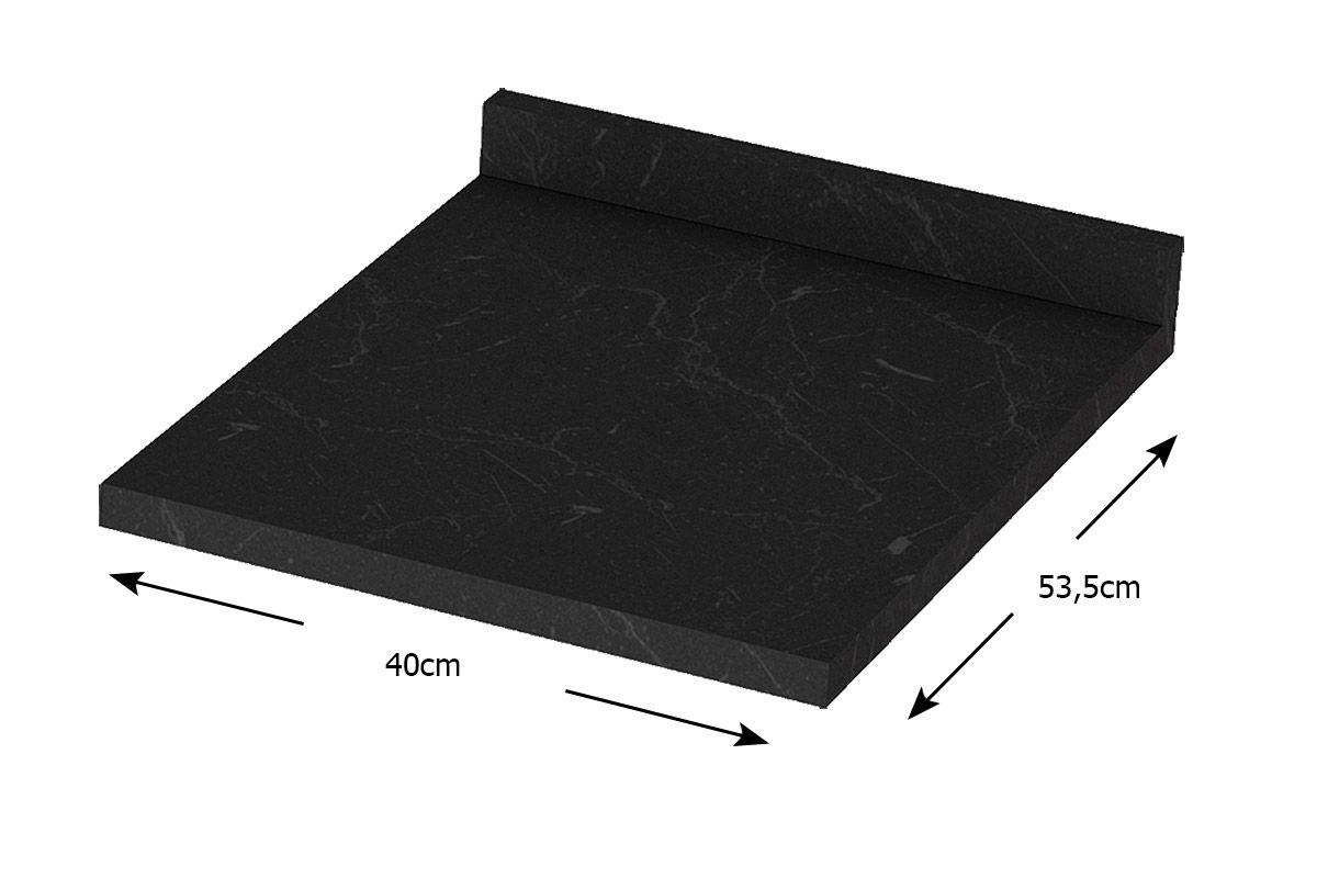 Tampo de Balcão Henn Integra 40cm (p/ Gabinete de 40cm)