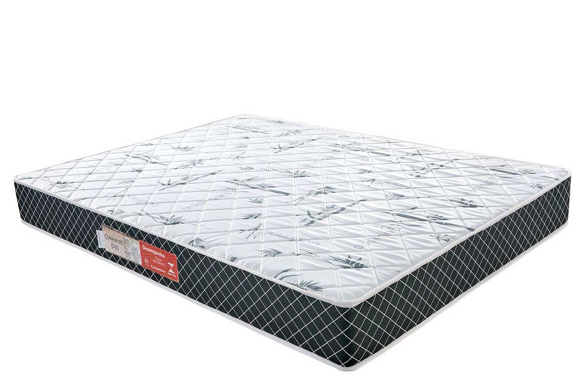 Colchão Plumatex de Espuma D23 ConfortexColchão Casal - 1,38x1,88x0,14 - Sem Cama Box