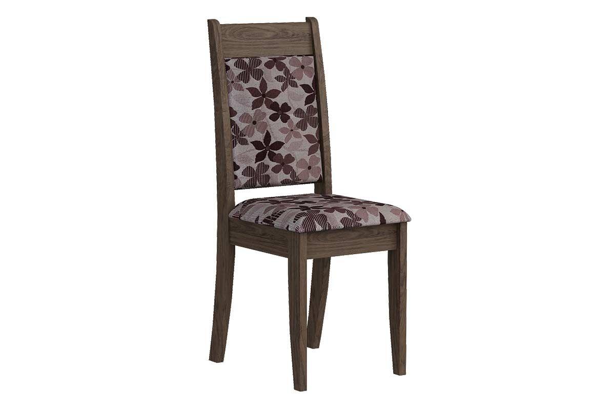 Cadeira Cimol LarissaCor Marrocos  -  Assento/Encosto Floral Bordô