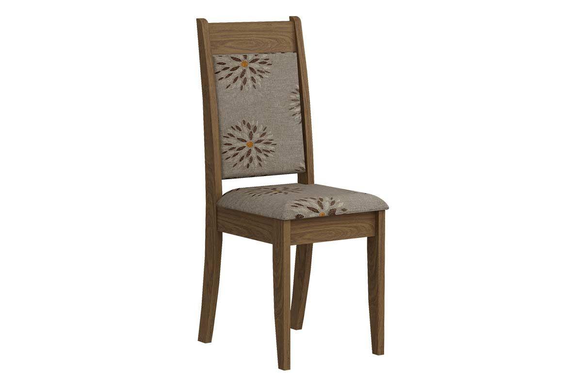 Cadeira Cimol LarissaCor Savana  -  Assento/Encosto Café