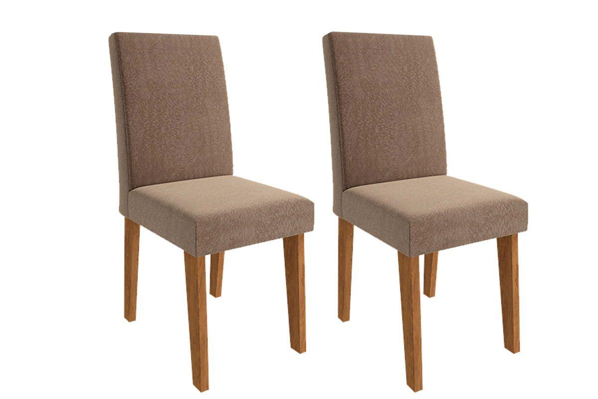 Cadeira Cimol MilenaCor Savana- Assento/Encosto Pluma