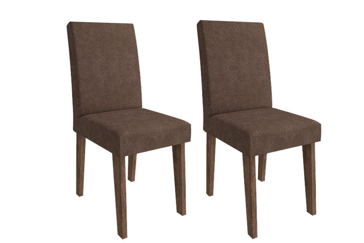 Cadeira Cimol MilenaCor Marrocos- Assento/Encosto Cacau