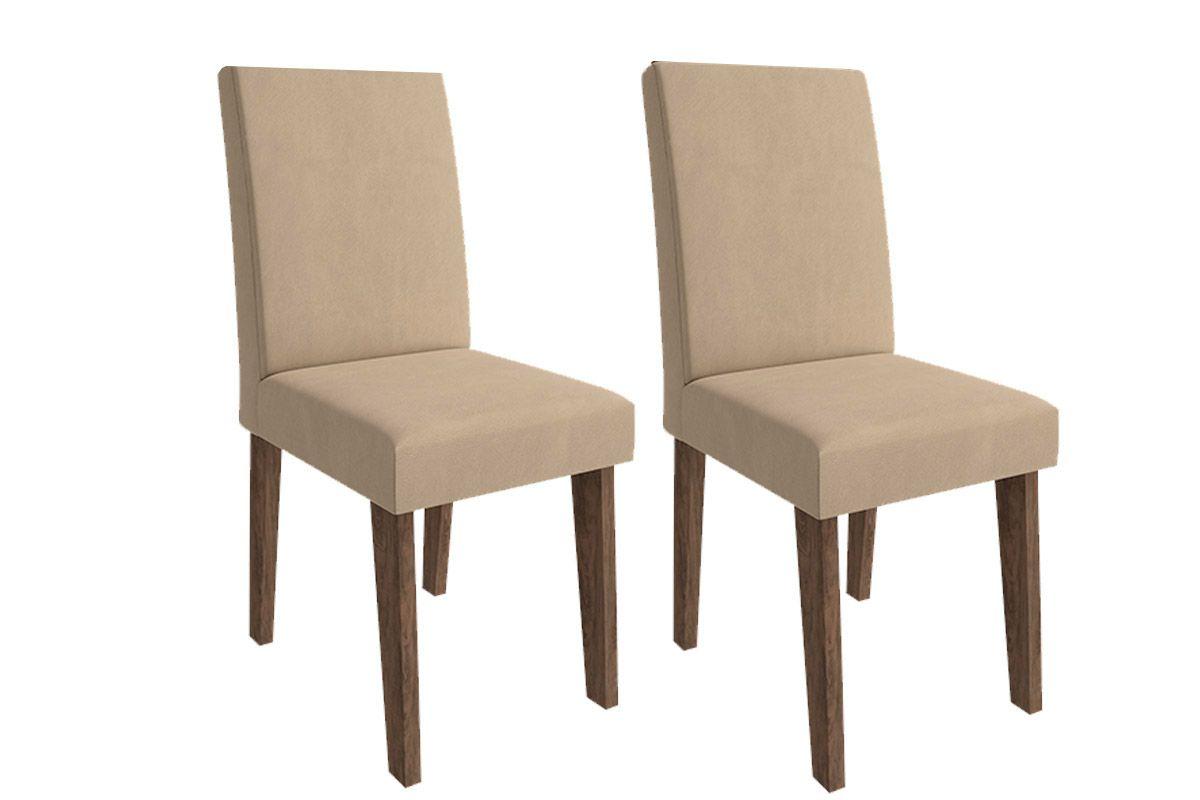 Cadeira Cimol MilenaCor Marrocos  -  Assento/Encosto Caramelo