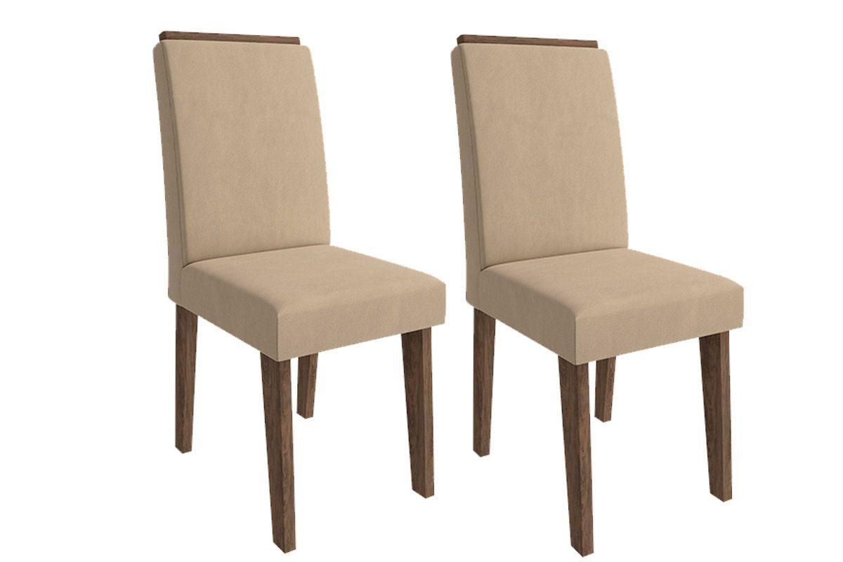 Cadeira Cimol BeatrizCor Marrocos  -  Assento/Encosto Caramelo