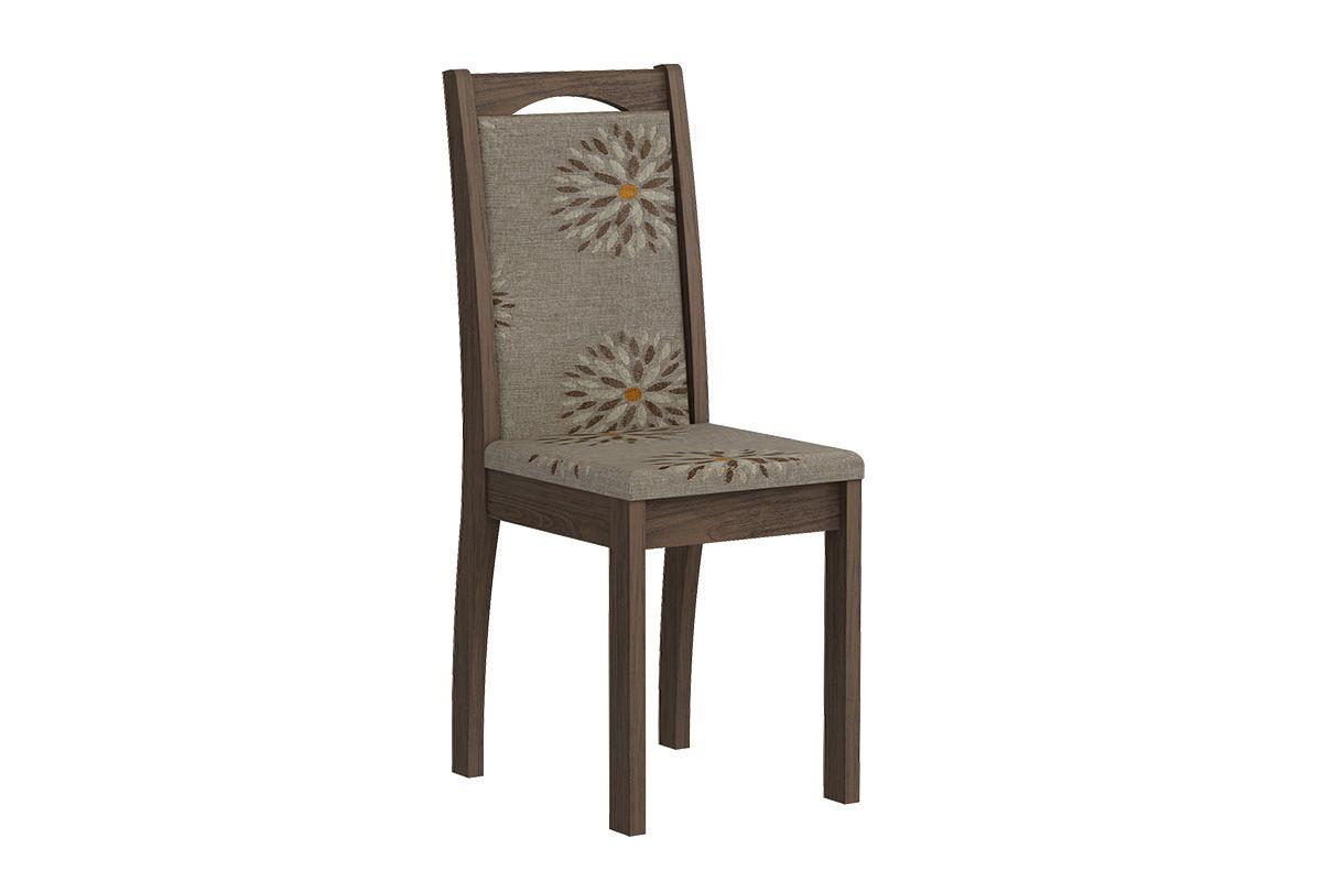 Cadeira Cimol LíviaCor Marrocos  -  Assento/Encosto Café