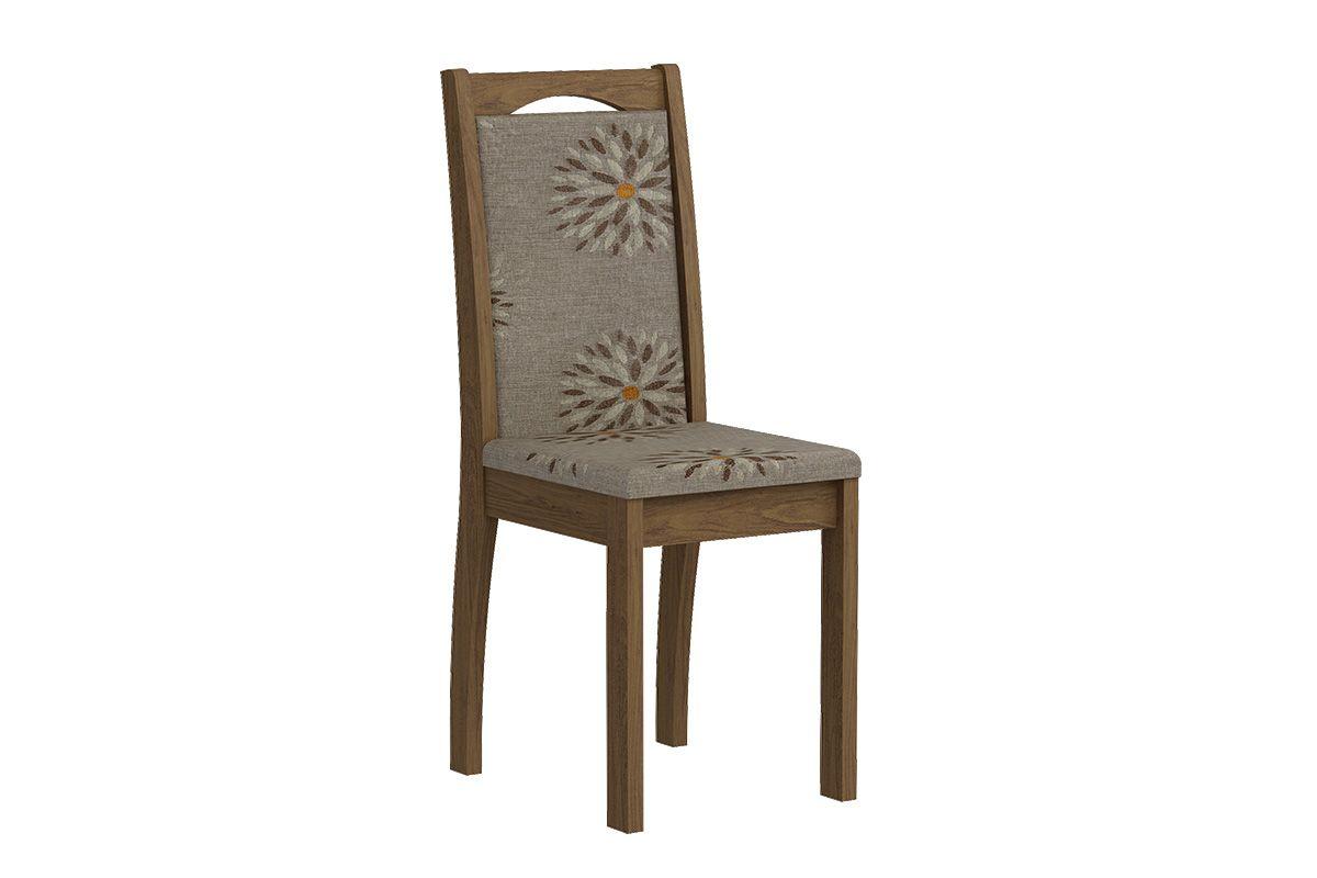 Cadeira Cimol LíviaCor Savana  -  Assento/Encosto Café