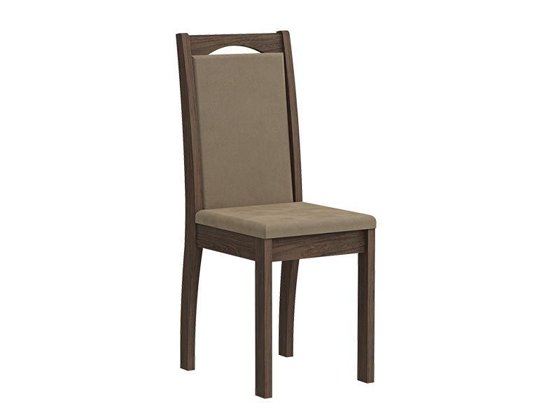 Cadeira Cimol LíviaCor Marrocos- Assento/Encosto Sued Marfin