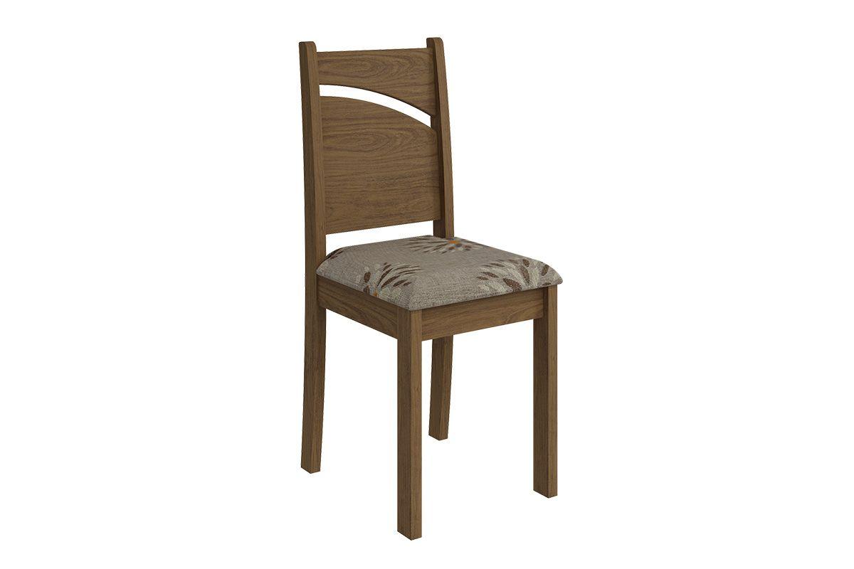 Cadeira Cimol MelissaCor Savana  -  Assento Café