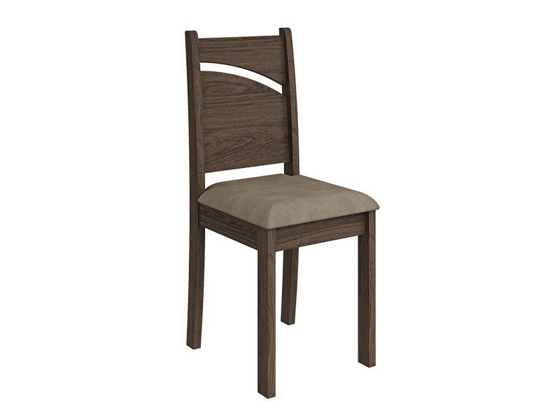 Cadeira Cimol MelissaCor Marrocos- Assento Sued Marfin