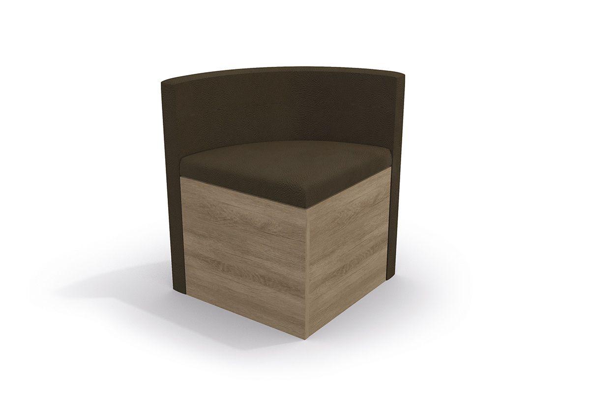 Cadeira Kappesberg Estar 4CAD800 Madeira (4 Unidades)Cor Nogal  -  Assento/Encosto Pena Café
