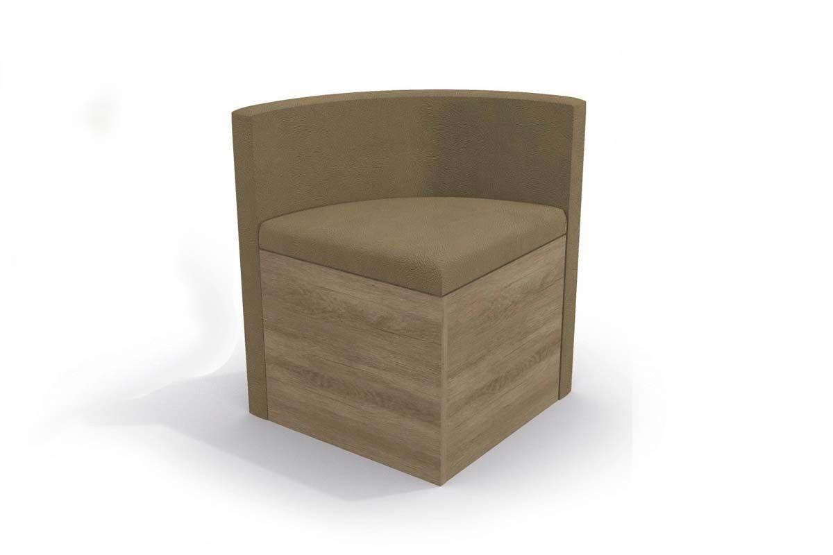 Cadeira Kappesberg Estar 4CAD800 Madeira (4 Unidades)Cor Nogal - Assento/Encosto Caramelo
