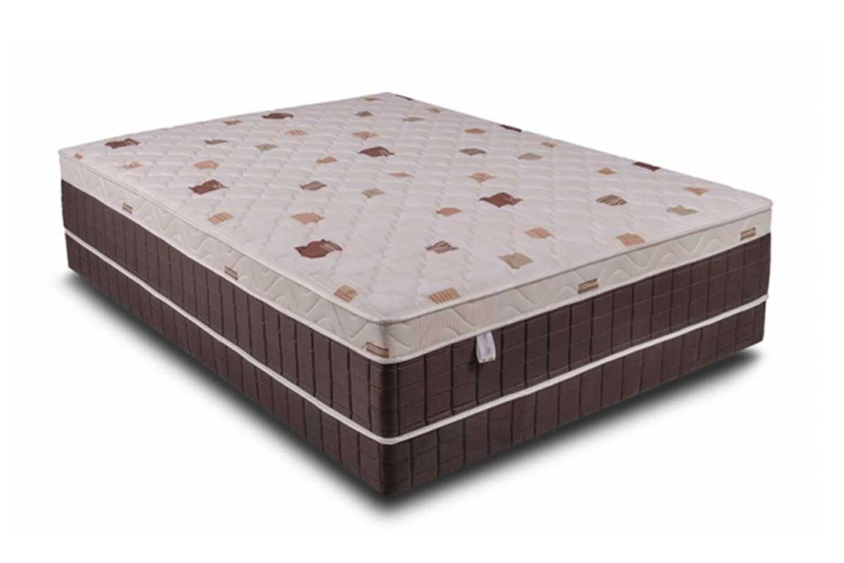Conjugado Box Kappersberg Molas Verticoil UniqueColchãoBox - 1,38x1,88x0,45 - Unificado
