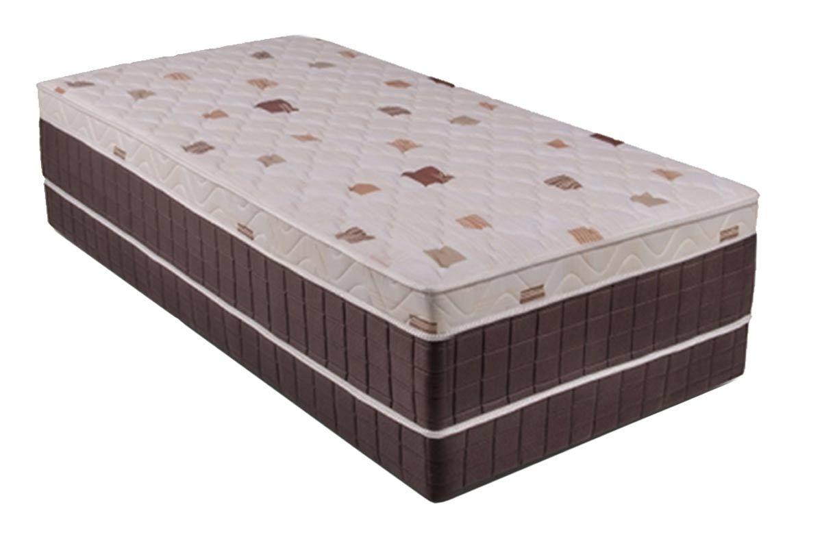 Conjugado Box Kappersberg Molas Verticoil UniqueColchãoBox - 0,88x1,88x0,45 - Unificado