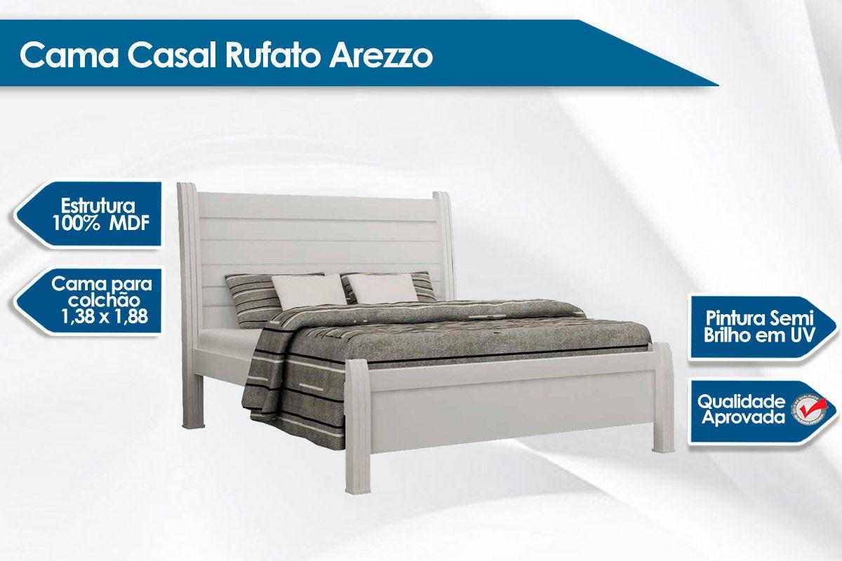 Cama Casal Rufato Arezzo
