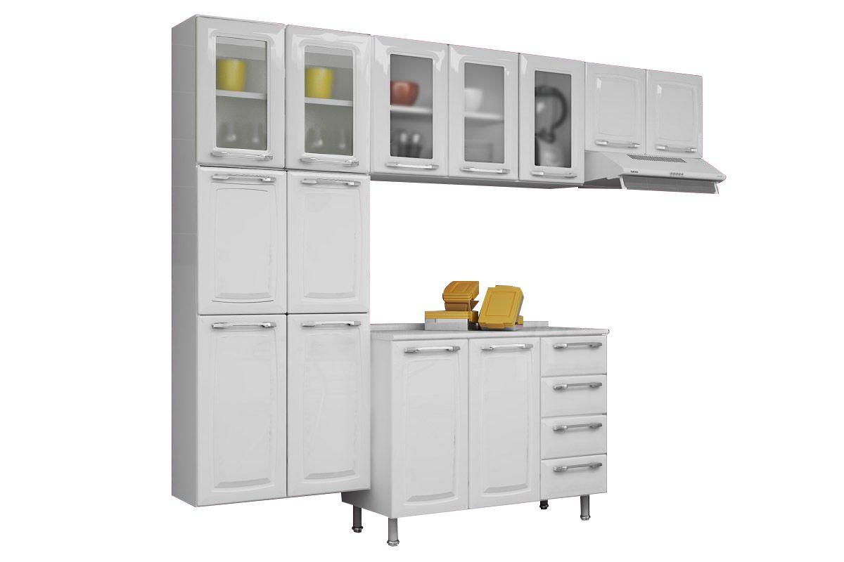 Cozinha Completa Itatiaia Criativa Aço COZ MXII Kit CZ96