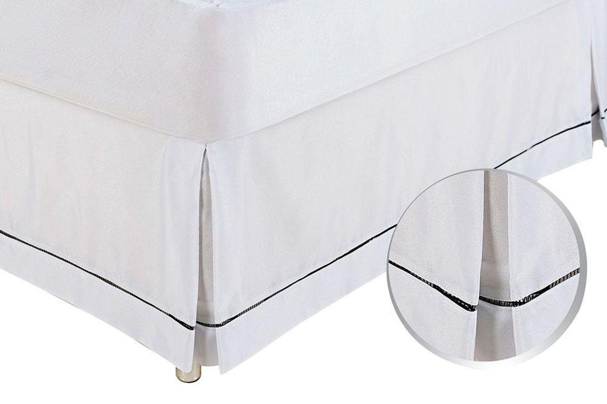 Saia de Cama Box OrtobomKing Size  -  1,90 x 2,00
