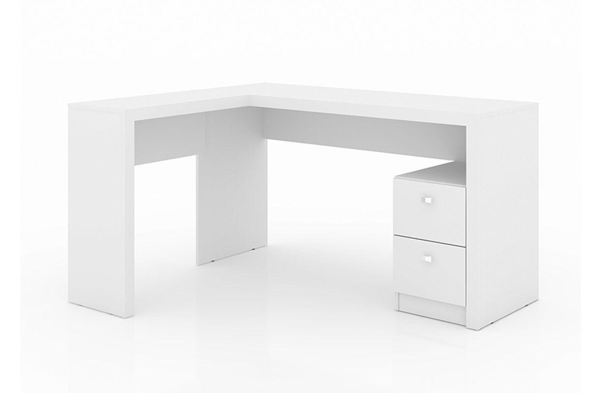 Mesa p/ Escritório Tecno Mobili ME-4129 de CantoCor Branco