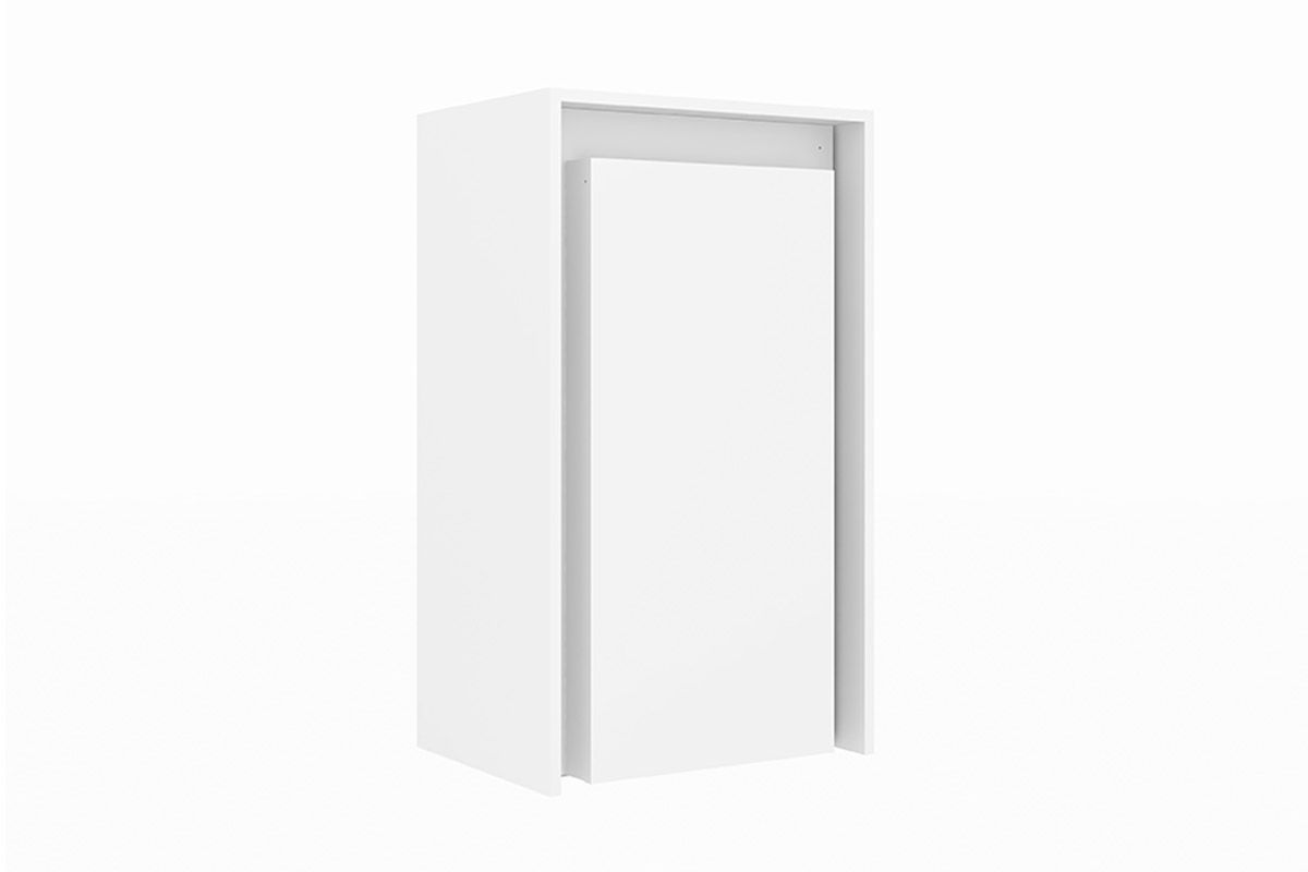 Armário de Parede c/ Escrivaninha Tecno Mobili AM-3106Cor Branco