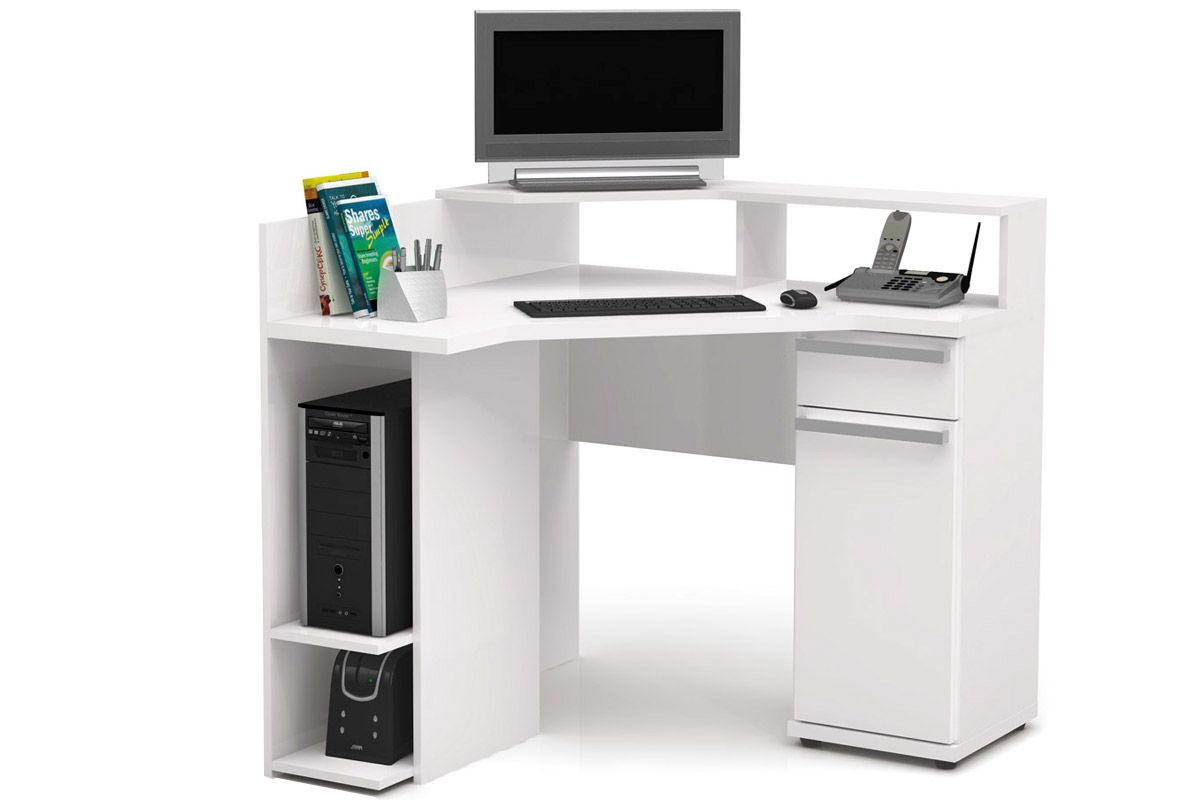 Mesa de Computador Kappesberg S975Cor Branco