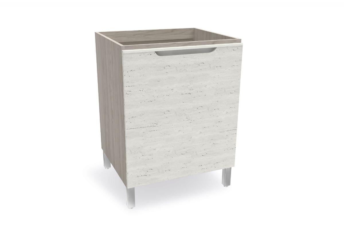 Balcão (Gabinete) de Cozinha Kappesberg Solaris D643 Madeira 1 Porta S/tampo 60cm