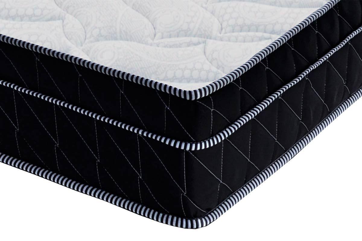 Colchão Probel de Molas Pocket ProDormir Springs Black Euro Pilow 28cm