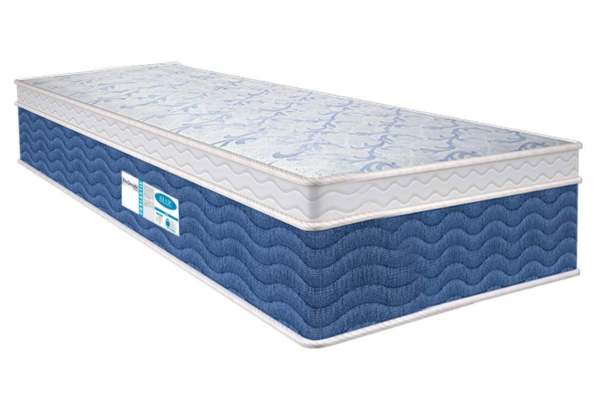 Colchão Probel de Molas Prolastic ProDormir Blue Pillow EuroColchão Solteiro - 0,88x1,88x0,34 Sem Cama Box