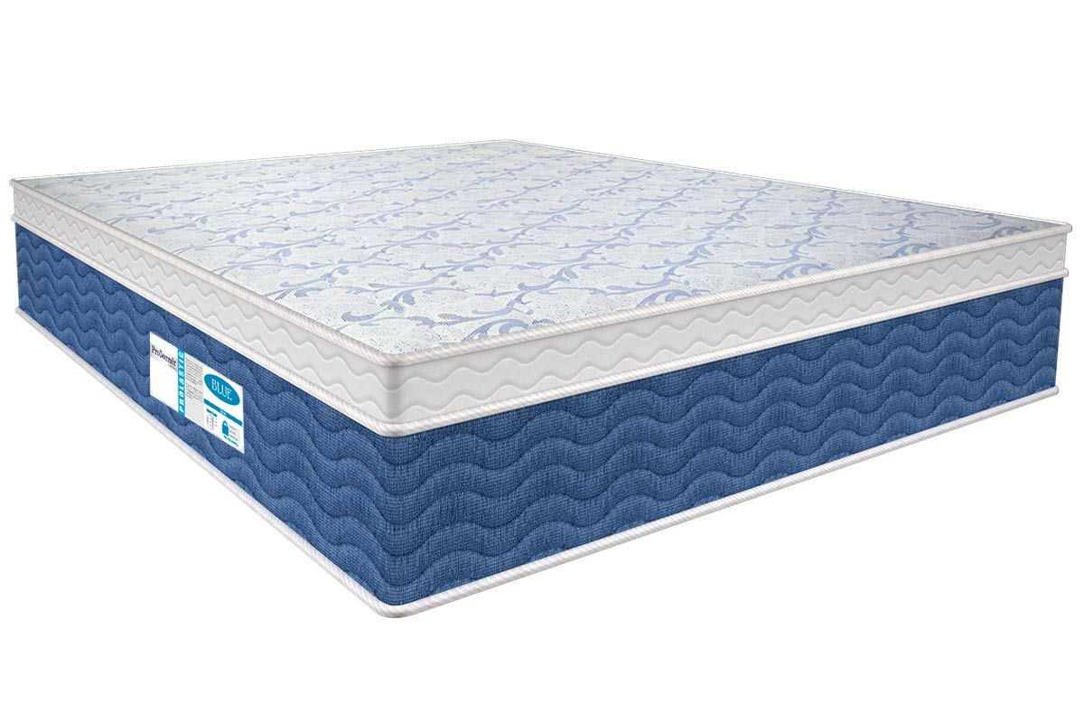 Colchão Probel de Molas Prolastic ProDormir Blue Pillow EuroColchão Casal - 1,28x1,88x0,34 - Sem Cama Box