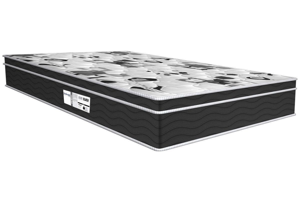 Colchão Probel de Molas Prolastic ProDormir Born Black 26 cmColchão Queen Size - 1,58x1,98x0,26 - Sem Cama Box