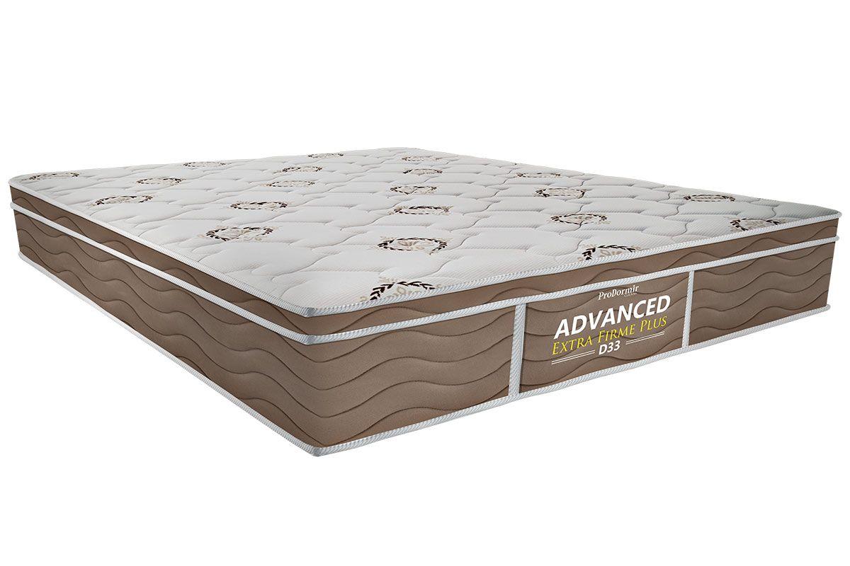 Colchão Probel de Espuma ProDormir Advanced Extra Firme Plus D33Colchão Casal - 1,38x1,88x0,24 - Sem Cama Box