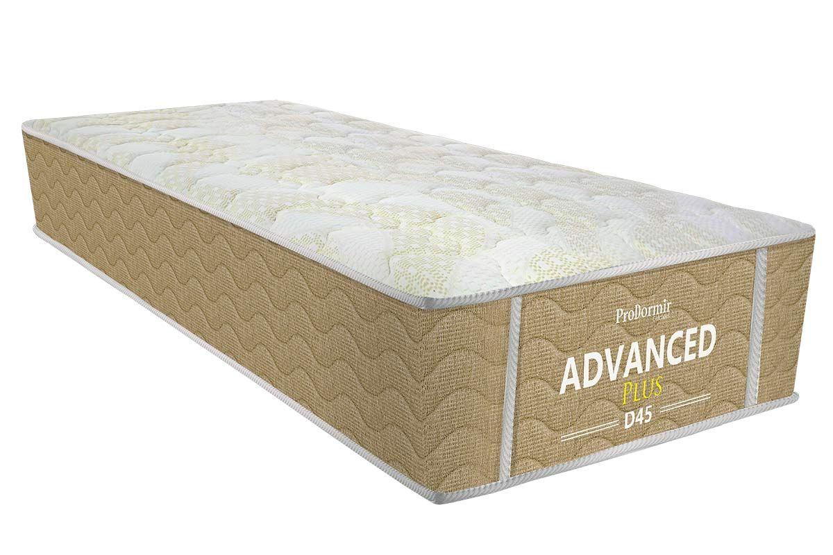 Colchão Probel de Espuma ProDormir Advanced Plus D45 26cmColchão Solteiro - 0,88x1,88x0,26 - Sem Cama Box