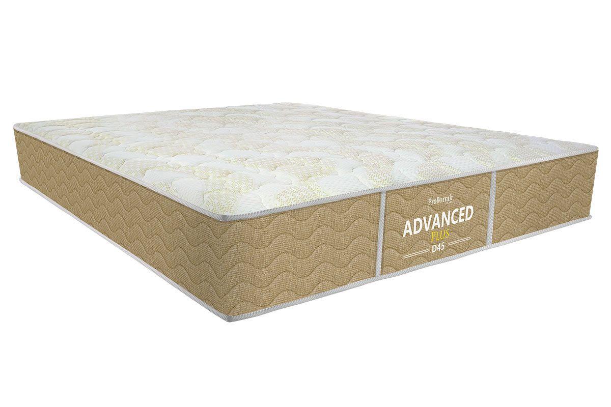 Colchão Probel de Espuma ProDormir Advanced Plus D45 26cmColchão Casal - 1,38x1,88x0,26 - Sem Cama Box