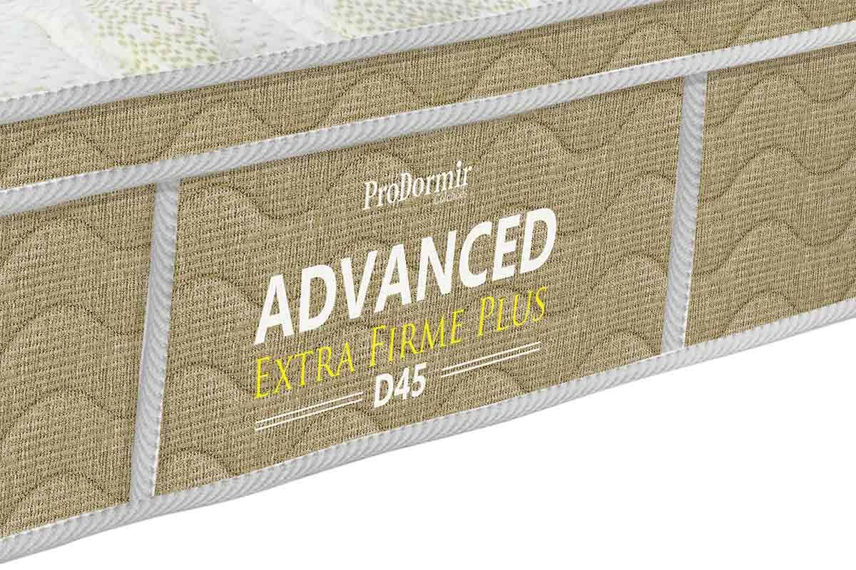Colchão Probel de Espuma ProDormir Advanced Extra Firme Plus D45 24cm