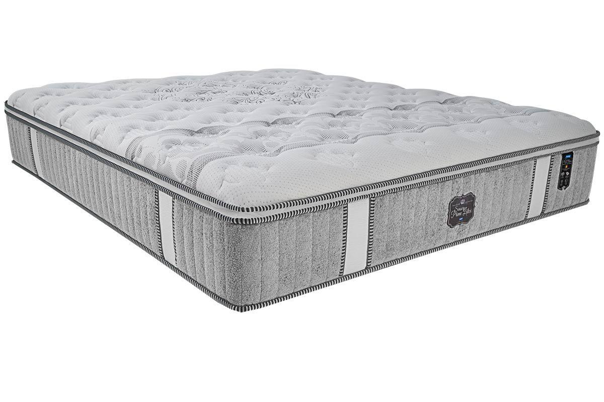Colchão Probel de Molas Pocket Sensory Prime Látex Pillow EuroColchão Queen Size - 1,58x1,98x0,36 - Sem Cama Box