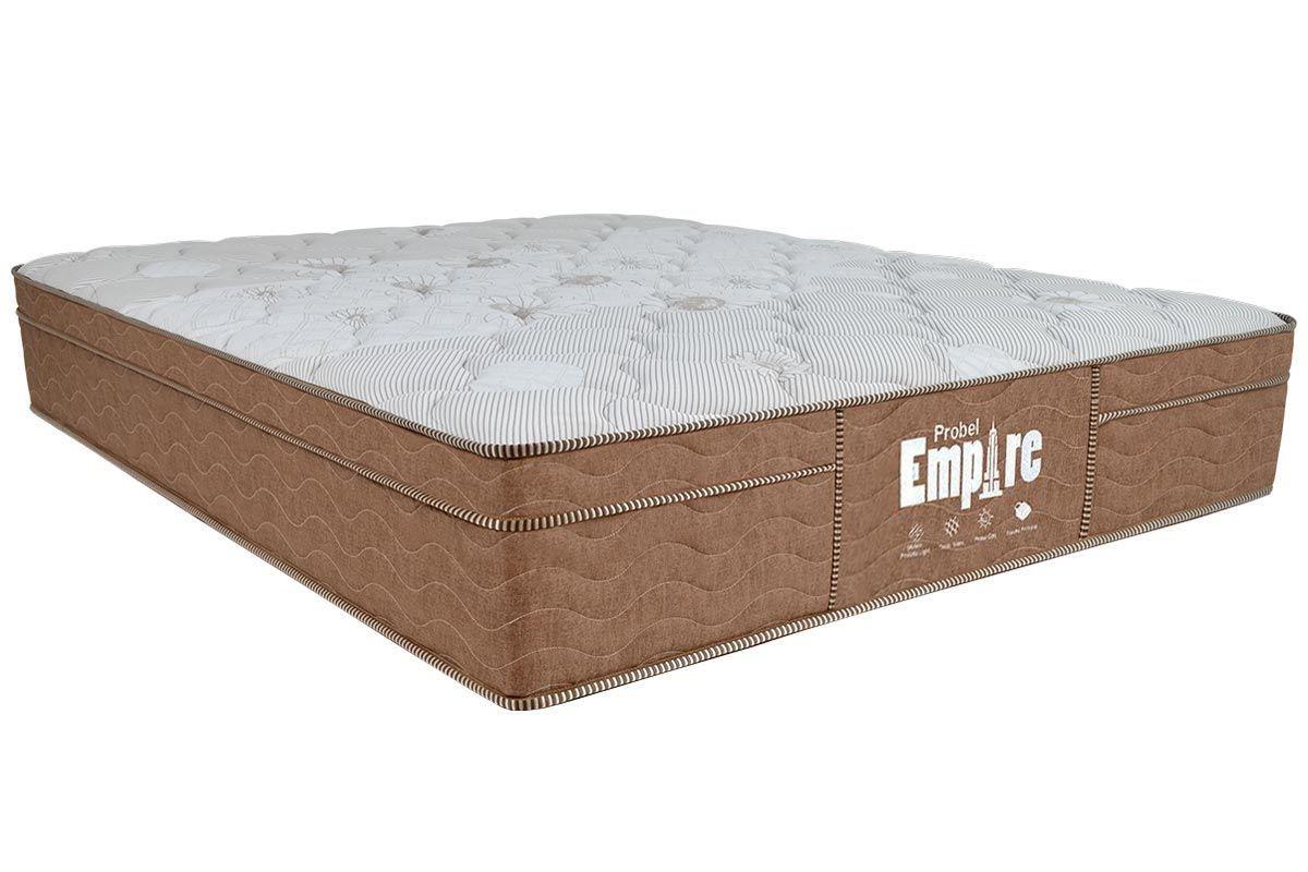 Colchão Probel de Molas Bonnell EmpireColchão Casal - 1,28x1,88x0,32 - Sem Cama Box