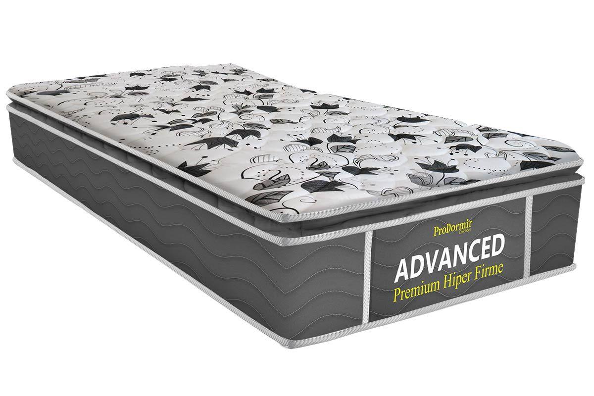 Colchão Probel de Espuma ProDormir Advanced Premium Hiper Firme 26cmColchão Solteiro - 0,78x1,88x0,26 - Sem Cama Box