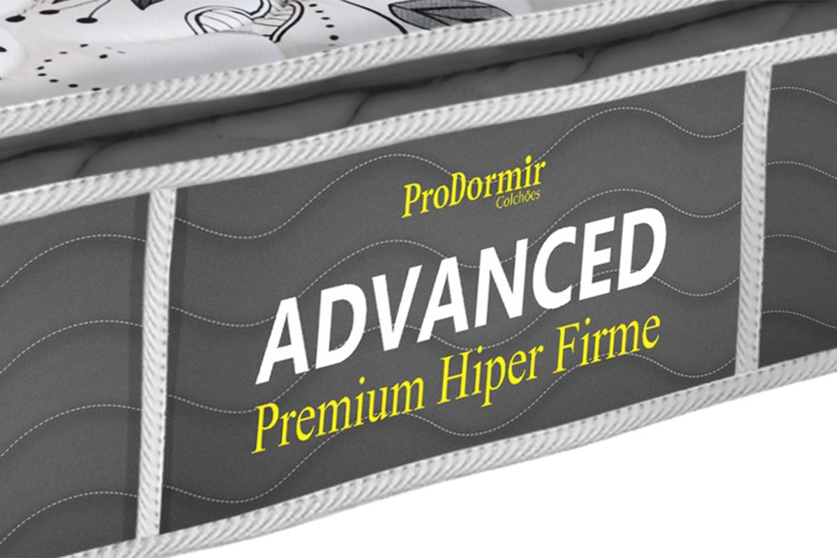 Colchão Probel de Espuma ProDormir Advanced Premium Hiper Firme 26cm