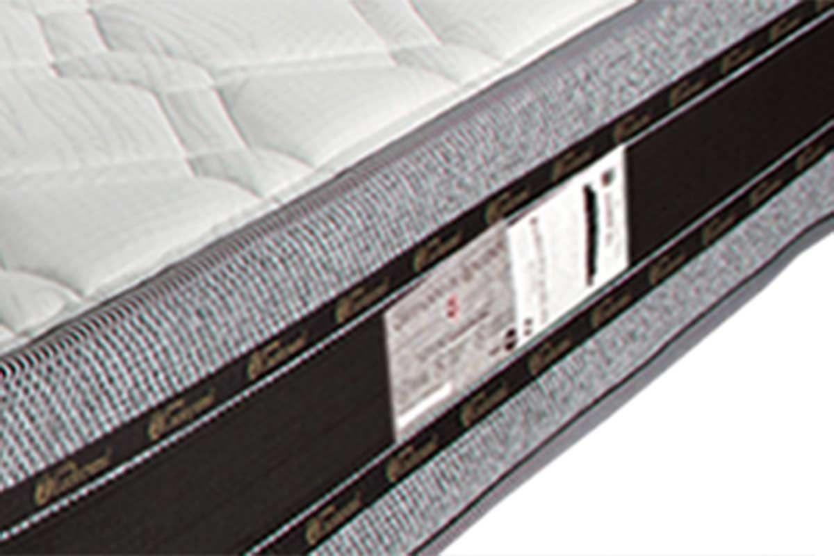 Colchão Luckspuma de Molas Superlastic Veneza One Side Pillow Top