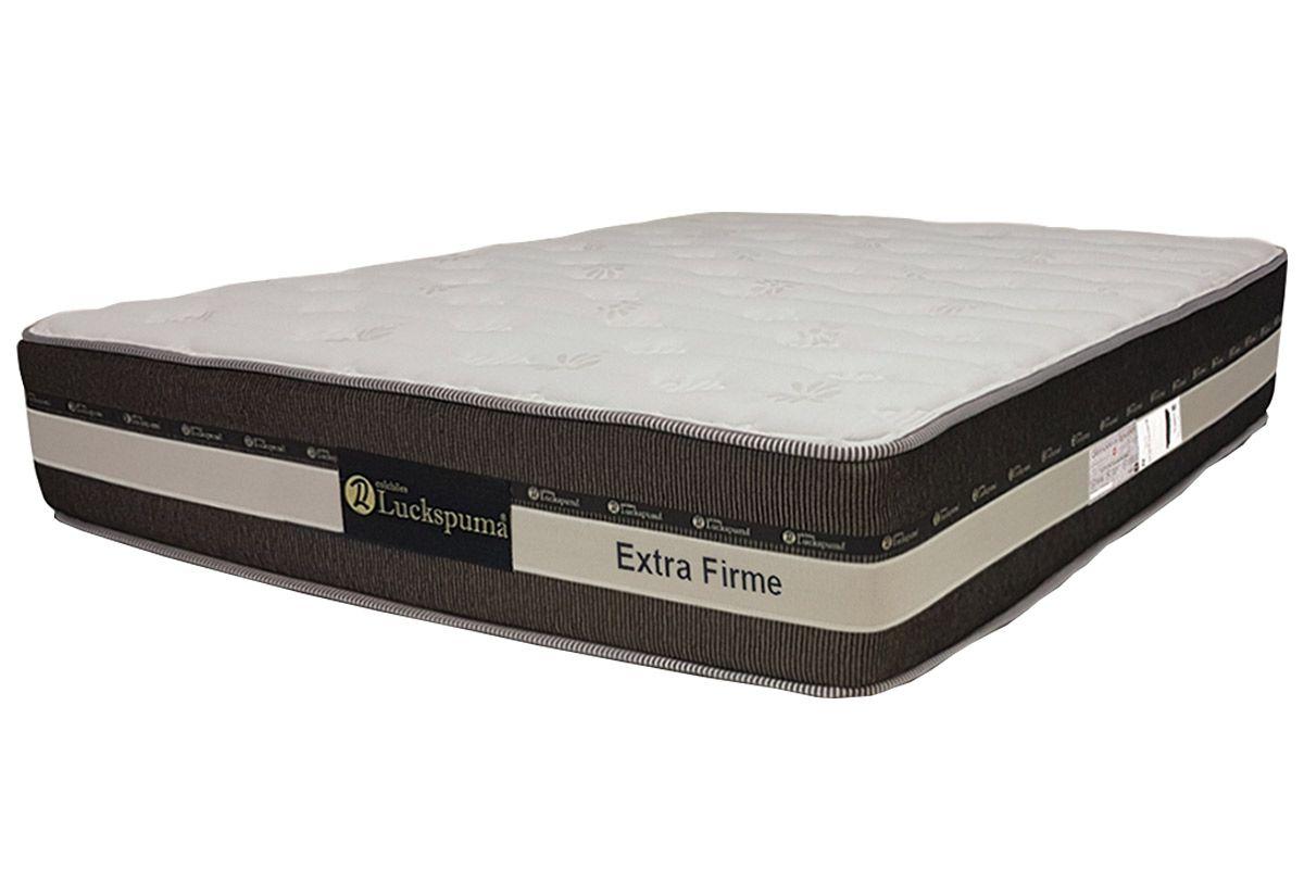 Colchão Luckspuma de Mola Pocket Esplendor Extra Firme-King - 1,93x2,03x0,33Colchão King Size - 1,93x2,03x0,33 - Sem Cama Box