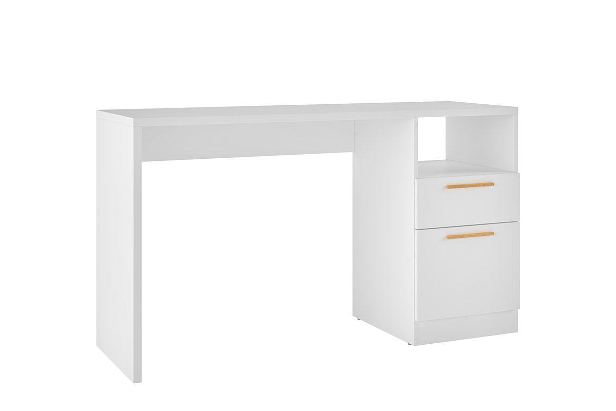 Mesa p/ Computador Office BRV BC 64 c/1 Porta e 1 GavetaCor Branco