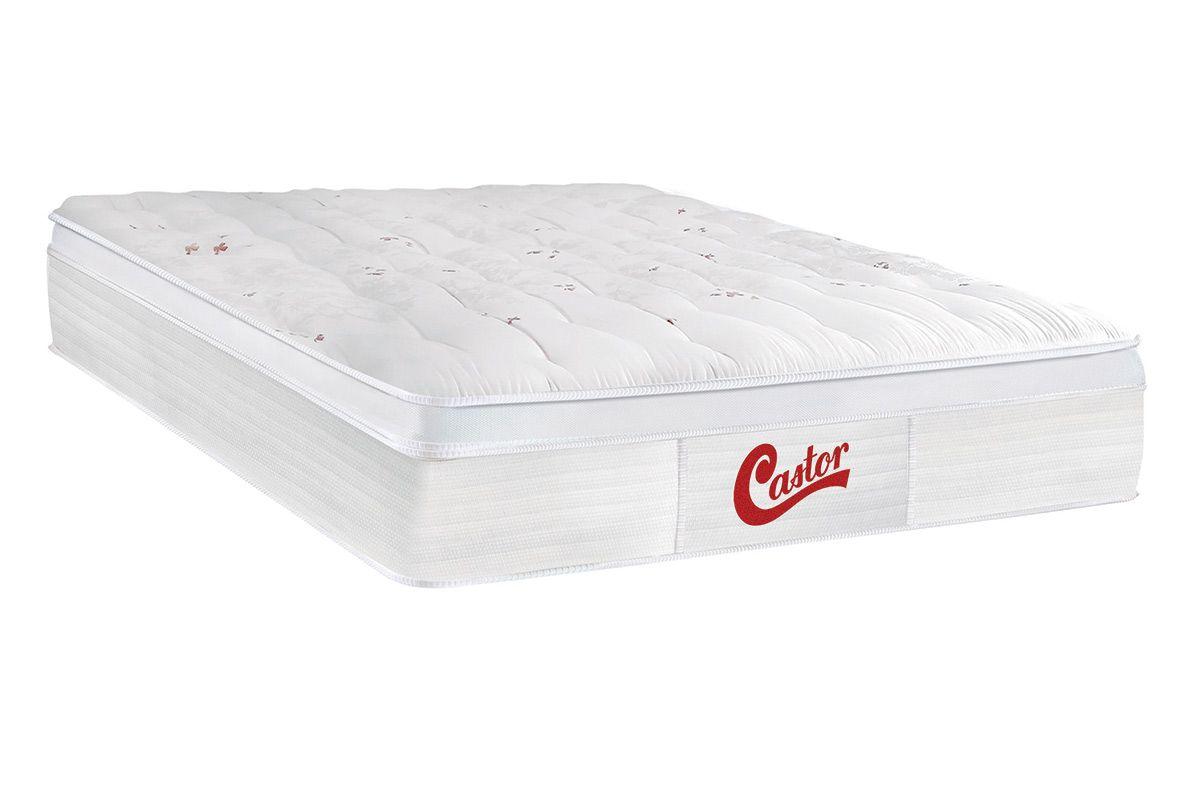 b42588b3b Colchão Castor de Molas Pocket Skin Euro Pillow até 40% OFF - Filhao.com