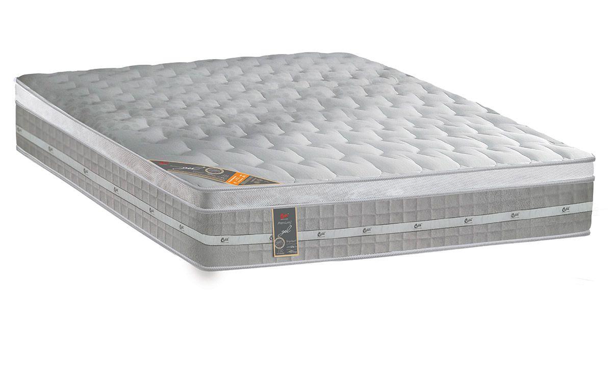 Colchão Castor de Molas Pocket Premium Gel Euro Pillow