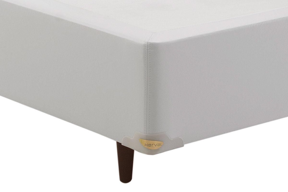 Cama Box Herval Korino Branco 20cmCor Branco