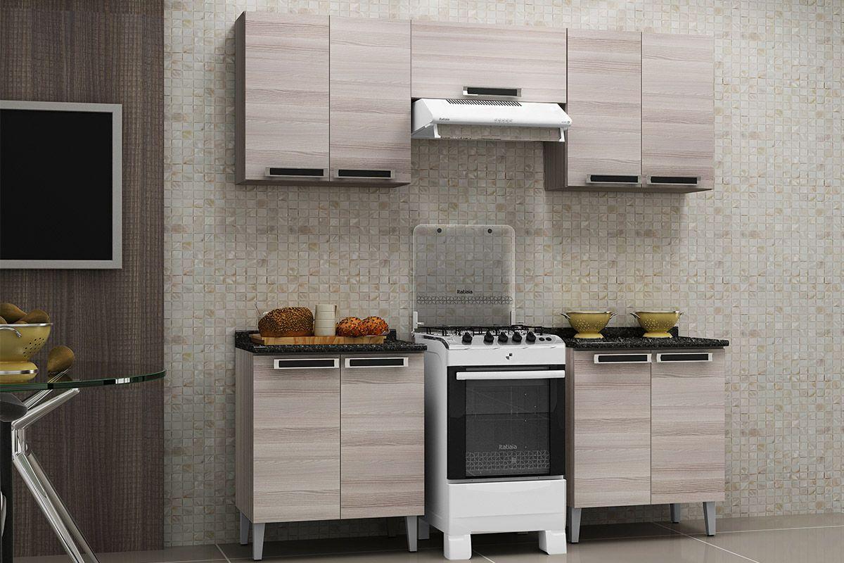 Armario Cozinha Itatiaia ~ Armário de Cozinha Itatiaia Jazz Madeira 1 Porta Horizontal 70cm até 40% OFF Filhao com