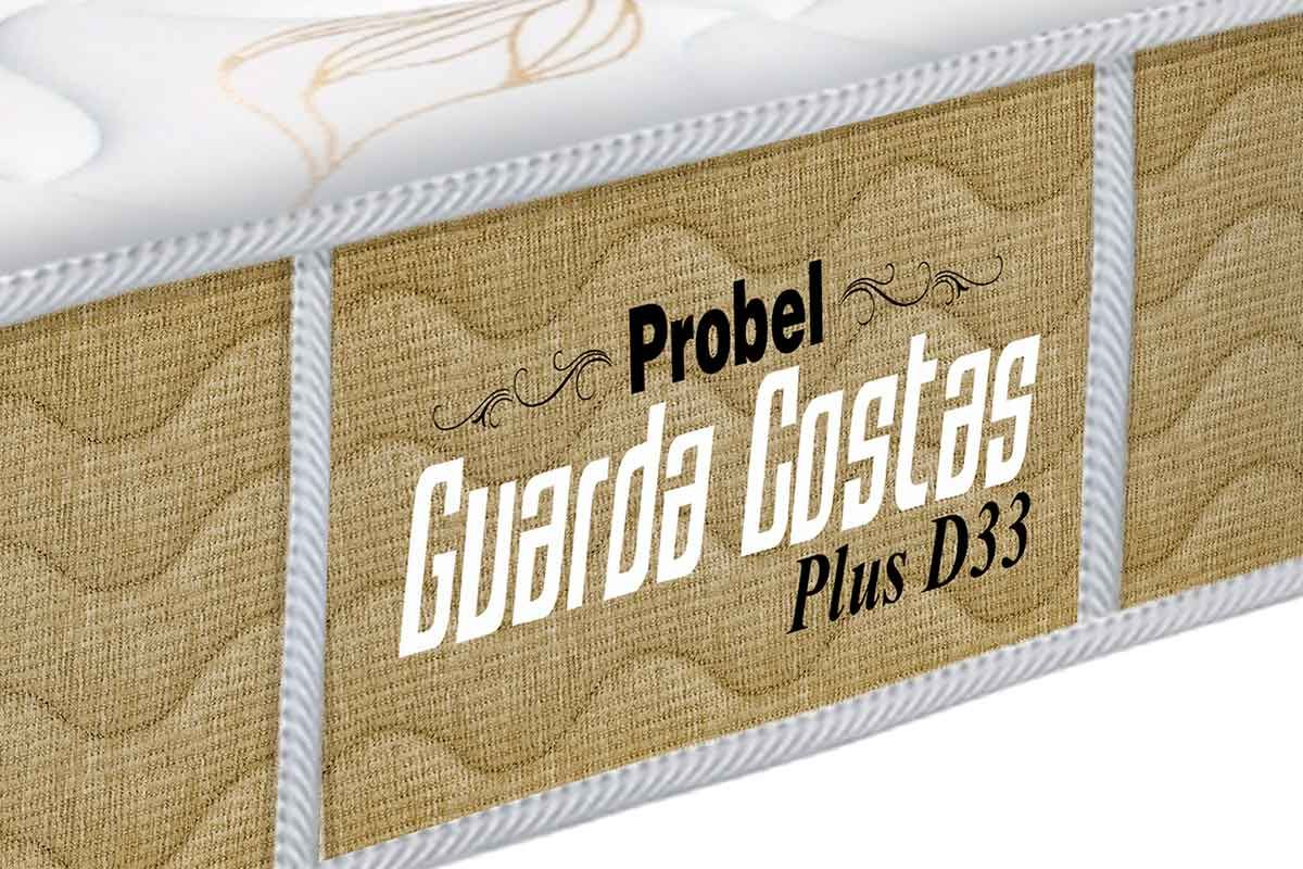 Colchão Probel de Espuma Guarda Costas Plus D33