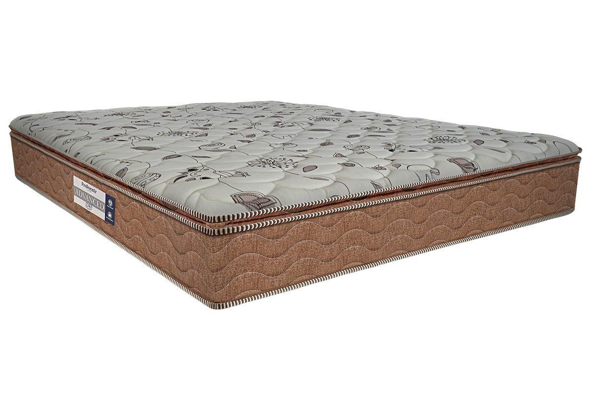 Colchão Advanced D45 Pillow Super 24cmColchão Queen Size - 1,58x1,98x0,24 - Sem Cama Box