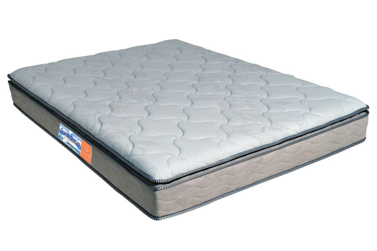 Colchão Probel de Espuma Guarda Costas Premium Hiper Firme Pillow TopColchão Casal - 1,28x1,88x0,24 - Sem Cama Box